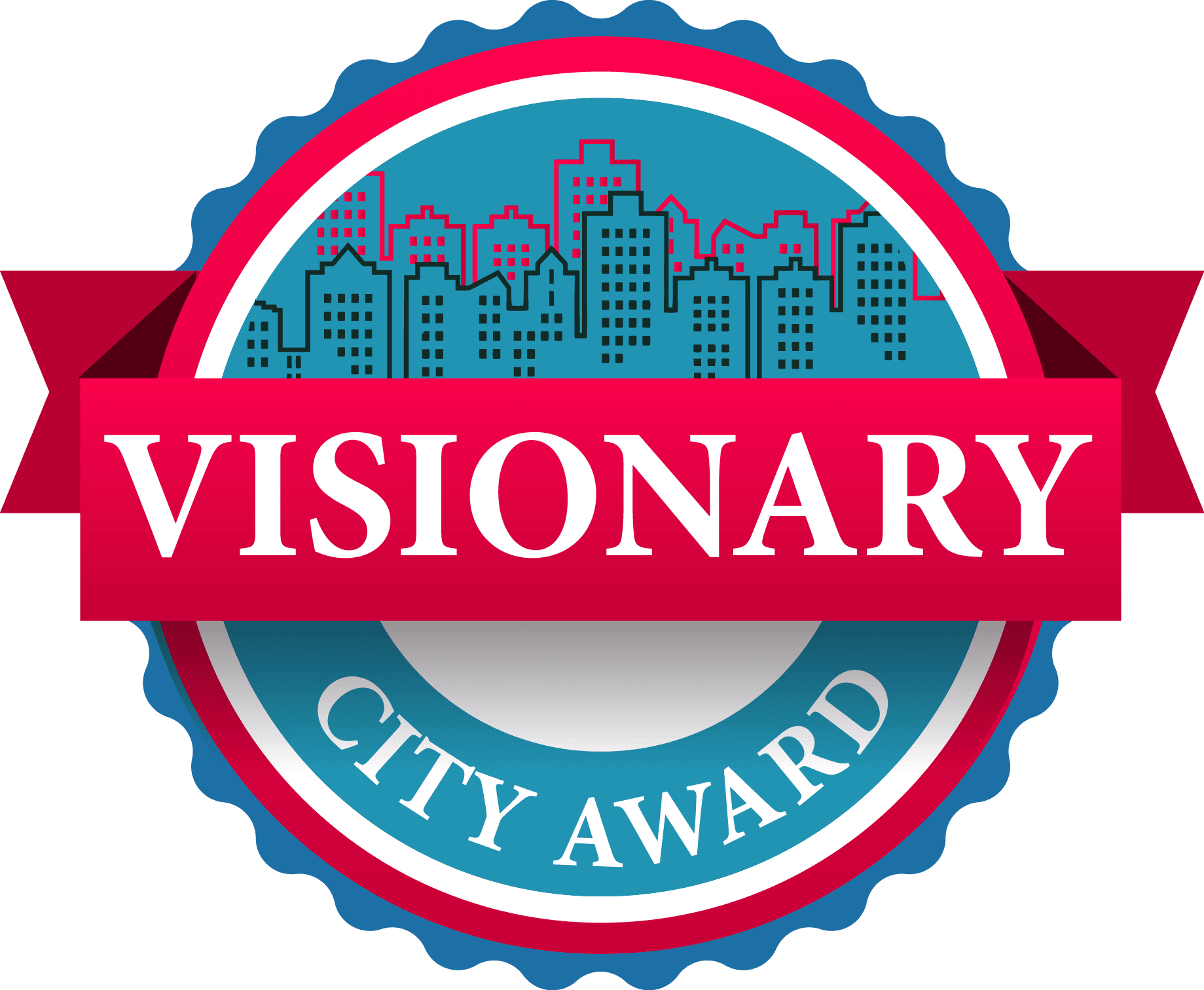 logo. Visionary City Award
